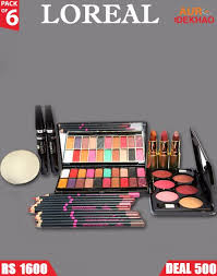 loreal pack of 20 12 pencils 1 eyeshadow colors blusher kit 6 bb 5 in infalliable