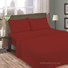 mainstays jersey knit sheet set red