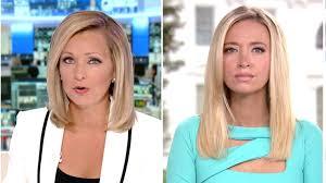 Fox News Host Sandra Smith Grills Kayleigh McEnany on Trump's Disastrous  ABC Town Hall