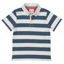 kite navy white stripe rugby shirt