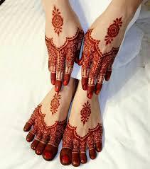 Red Cone Mehandi Designs Red Curse Markings Beautiful Mehndi Design Legs Mehndi
