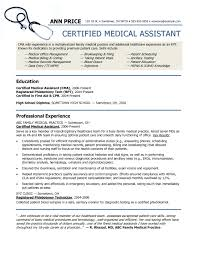 Medical Assistant Resume Example Inspirational Medical Assistant