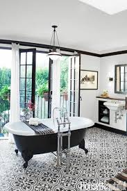 Black And White Patterned Floor Tiles Simple Pattern Files Geometric Tile Floors Centsational Style