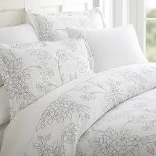 merit linens premium ultra soft vine pattern 3 piece duvet cover set com
