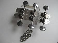 teisco vintage guitar parts vintage teisco decca kawai hollow body guitar tuners set for your project chrome