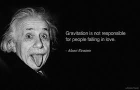 Group of: Albert Einstein quote on gravity and love. | We Heart It