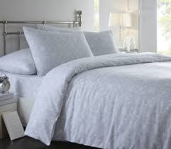 linen flannelette duvet cover brushed cotton easy care quilt set sara blue single from ideal