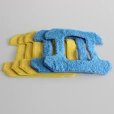 (For <b>X6</b>) <b>Liectroux Fiber</b> Mopping Cloths for Window Cleaning Robot ...