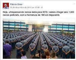 Resultado de imagem para Dino nomeia policiais