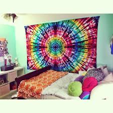 Tie Dye Bedding | Bedding Like Urban Outfitters | Bohemian Bedspread