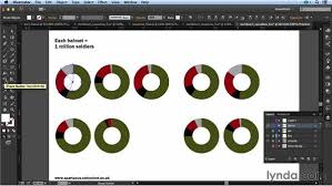Create Pie Chart In Illustrator Cc Converting A Pie Chart To A Donut Chart