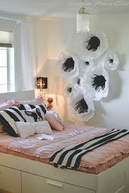 girls bedroom pink black white28