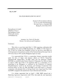 Bir Itad Ruling No Da 065 07 Dividend Value Added Tax