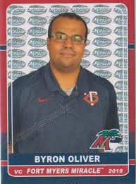2019 Fort Myers Miracle Bryon Oliver – Go Sports Cards