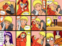 Boruto, Naruto and Hinata funny and cute comic by Vitooka on DeviantArt