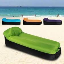inflatable outdoor furniture. Image Is Loading Inflatable-Air-Lounger-Sofa-Lazy-Bed-Portable-Air- Inflatable Outdoor Furniture