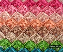 MyPicot Free crochet patterns Box Stitch Beautiful Always Gorgeous Crochet Patterns