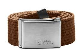 <b>Ремень Fjallraven Canvas Belt</b> Chestnut