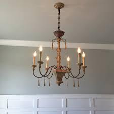 vintage farmhouse lighting. Dining-room-chandy Vintage Farmhouse Lighting