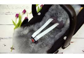 maxi cosi style lambskin car seat liner plus free matching harness covers colour choices