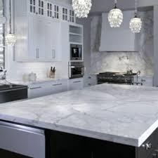 white carrera quartz kitchen kitchen countertops carrera marble countertop