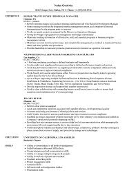Sample Travel Management Resume Travel Buyer Resume Samples Velvet Jobs