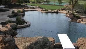 backyard salt water pool. Chlorine Pools Vs Salt Water Backyard Pool