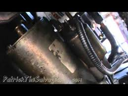 ford taurus starter replacement