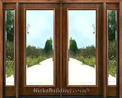 fine double entry door with glass commercial wood entry doors glass double front doors with glass