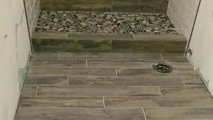 ceramic shower wood plank tile shower wood tile shower ceramic porcelain tile shower wood plank tile