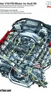 audi s6 5 2 liter fsi v10 engine diagram photo