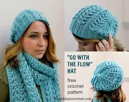 Crochet Hat Patterns Free Stunning FREE Patterns] Stylish Chunky Yarn Crochet Hat And Matching Super Scarf