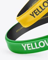 Dye sublimation small cuff bracelet mockup template add your   etsy. Download Wristband Mockup Photoshop Psd Mock Ups