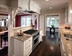 Remodel kitchen to open up a galley style.