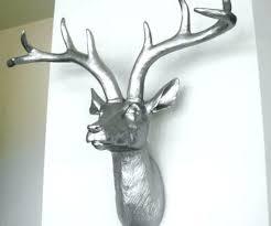 deer head wall decor fake deer head medium size of famed faux deer heads also bronze faux deer head deer fake deer head deer head wall decor australia