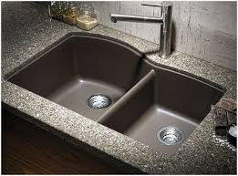 installing undermount kitchen sink granite countertop more eye catching use flexible furniture whenever beautifying a lesser