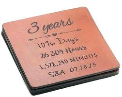 leather anniversary gifts for him 3 yr ersary gifts for him gift leather year coasters ideas leather anniversary gifts for him