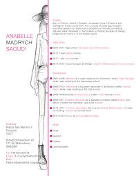 Cover Letter Fashion Resume Sample Fashion Resume Examples
