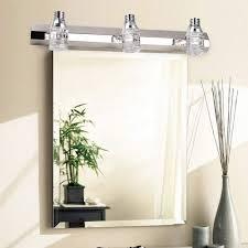 bathroom light fixtures above mirror top modern crystal vanity 6w wall of over mirror vanity lights f61