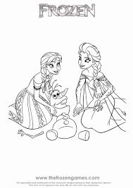 Anna En Elsa Kleurplaat Nieuw Disney Frozen Coloring Pages Awesome