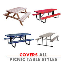 picnic table covers style 1