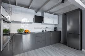 Outstanding Grey High Gloss Kitchen Cabinets Podcast Doors