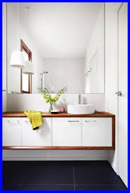 bathroom modern white. Best Bathroom Modern White Timber Accent Image For Design Trend And Styles T