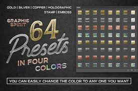 Presets Creative Store On amp; Actions Toolkit Foil Effect Images Photoshop Yellow In