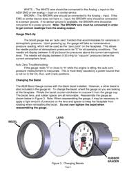aem analog boost sae gauge 305132 user manual Wiring Diagram For A Aem Boost Gauge page 3 page 3 white the white wire should be connected to the analog Defi Boost Gauge Wiring