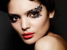 face lace is a range of 15 intricate ready to wear make up designs which won