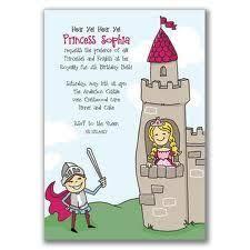 Kids Tea Party Invitation Wording Princess And Knight Party Invitation Wording Invitations For A
