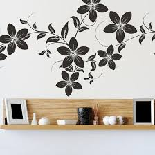 wall art designs flowers