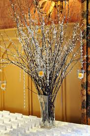 Winter Wedding Decor Winter Wedding Centerpiece With Hanging Candles My Winter