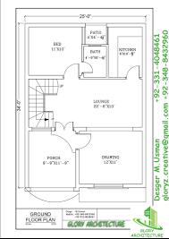 1 5 Marla House Design In Pakistan 4 Marla House Plan Glory Architecture
